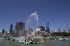 фонтан chicago buckingham Стоковое Изображение