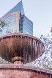 Фонтан Chili Сантьяго в парке Стоковое Изображение