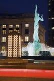 фонтан cleveland Стоковые Фотографии RF