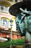 фонтан karlovy меняет Стоковое Изображение RF