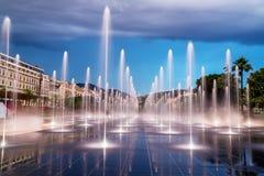 фонтан kazakhstan столицы astana Стоковое Изображение RF