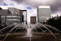 фонтан kazakhstan столицы astana Стоковая Фотография