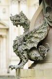 Фонтан Loreto статуи Стоковые Изображения