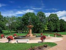 фонтан minneapolis стоковое фото rf