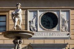 фонтан palermo pretoria Сицилия стоковое фото