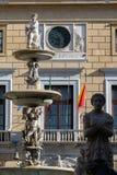 фонтан palermo pretoria Сицилия стоковые фото