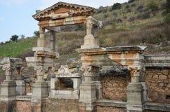 Фонтан Pollio, Ephesus Стоковое Изображение RF