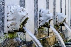 Фонтан rosello, Sassari, Сардиния Стоковое Изображение RF