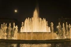 Фонтан Sforza Castel Стоковая Фотография