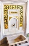 Фонтан Suleiman i, дворец Topkapi, Стамбул, Турция Стоковые Изображения