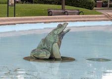 Фонтан Swann мемориальный, круг Logan, Филадельфия, Пенсильвания Стоковые Фото