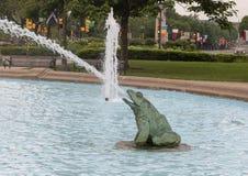 Фонтан Swann мемориальный, круг Logan, Филадельфия, Пенсильвания Стоковая Фотография RF