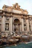 Фонтан Trevi в Рим стоковые изображения rf