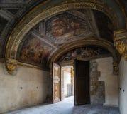 Фонтенбло, Франция - 16-ое августа 2015: Внутренний взгляд стоковые изображения