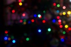 Фоны с светами на предпосылке 10 Стоковые Фотографии RF
