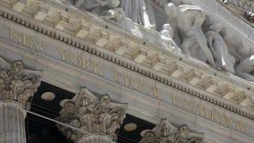 Фондовая биржа здания Nyse Стоковые Изображения RF