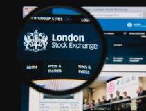 Фондовая биржа Лондона стоковые изображения