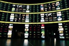 Фондовая биржа цифров на экспо Стоковая Фотография RF