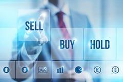 Фондовая биржа Стоковое Изображение RF