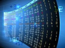 Фондовая биржа Стоковые Фото