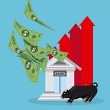 Фондовая биржа Стоковые Изображения RF