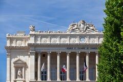 Фондовая биржа et Chambre de Коммерция в марселе стоковое фото