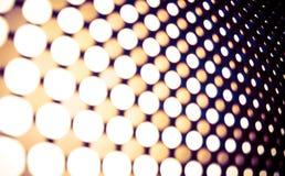 Фон приведенный панели светов Стоковое фото RF
