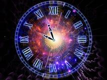 Фон часов Стоковое Фото