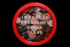 Фонды на случай чрезвычайных обстоятельств стоковое фото rf