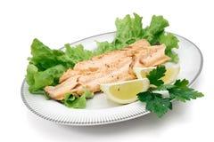 форель салата лимона выкружки Стоковые Изображения
