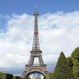 Формат квадрата взгляда ландшафта Эйфелева башни дистантный Стоковое Изображение