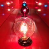 Формат квадрата электрических лампочек Стоковое Фото