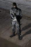 форма воина винтовки 4 черная m Стоковые Изображения RF