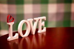 Форма влюбленности дня валентинки Стоковое Фото