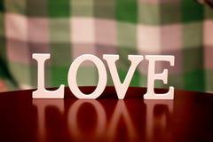 Форма влюбленности дня валентинки Стоковые Изображения