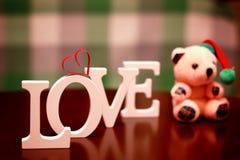 Форма влюбленности дня валентинки Стоковые Фотографии RF