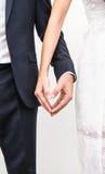 Форма влюбленности сердца с руками стоковое фото rf