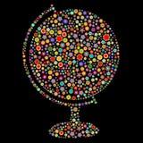 Форма глобуса Стоковое Изображение