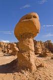 Форма гриба на парке штата долины гоблина, Юте Стоковое Изображение