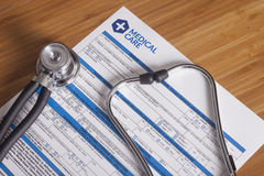 Форма здравоохранения Стоковые Фотографии RF