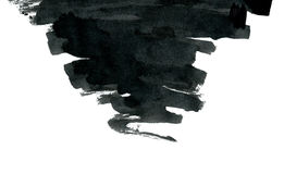 Форма излишка бюджетных средств абстрактная изолированная на белизне Стоковые Фото