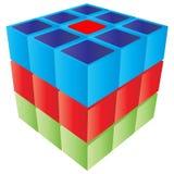 форма кубика Стоковые Изображения RF