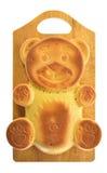 Форма медведя пирожного Стоковая Фотография RF