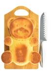 Форма медведя пирожного Стоковые Изображения RF