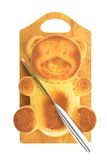 Форма медведя пирожного Стоковая Фотография