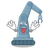 Форма мультфильма руки робота сумасшедшей игрушки mechatronic бесплатная иллюстрация