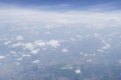 Форма неба самолет Стоковые Изображения RF