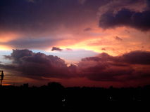 Форма облака Стоковое фото RF