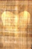 форма пергамента сердца старая Стоковые Изображения