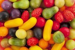 форма плодоовощ конфеты цветастая Стоковые Изображения RF